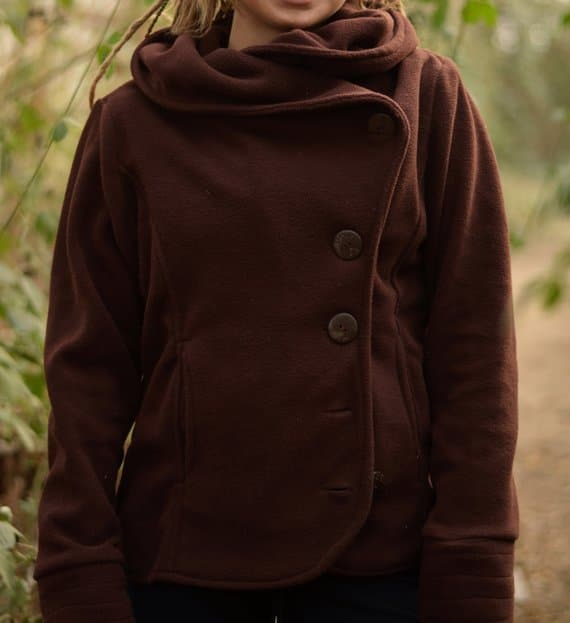 jacke-winter-fleece-braun