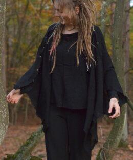 pullover-hippie-zipfel-aermel-schwarz