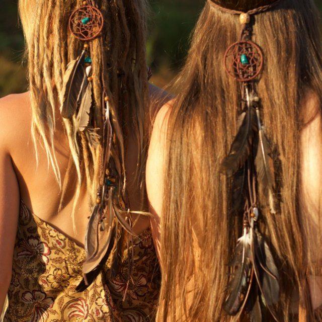 hippie-haar-schmuck-festival
