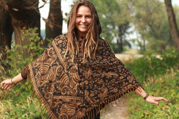 poncho-hippie-kleidung