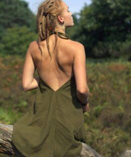 Kleid-natural-style-gruen