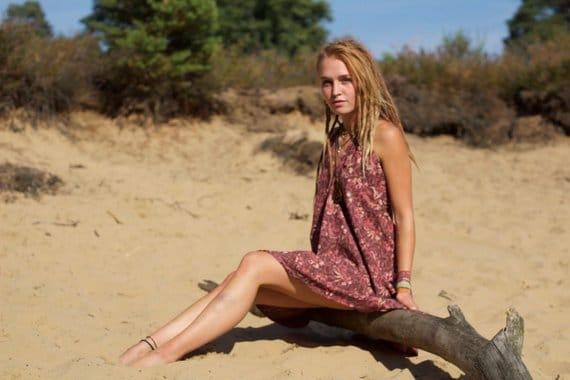 kleid-hippie-bohemian