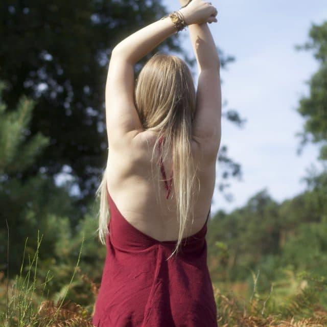 kleid-hippie-rot-natural