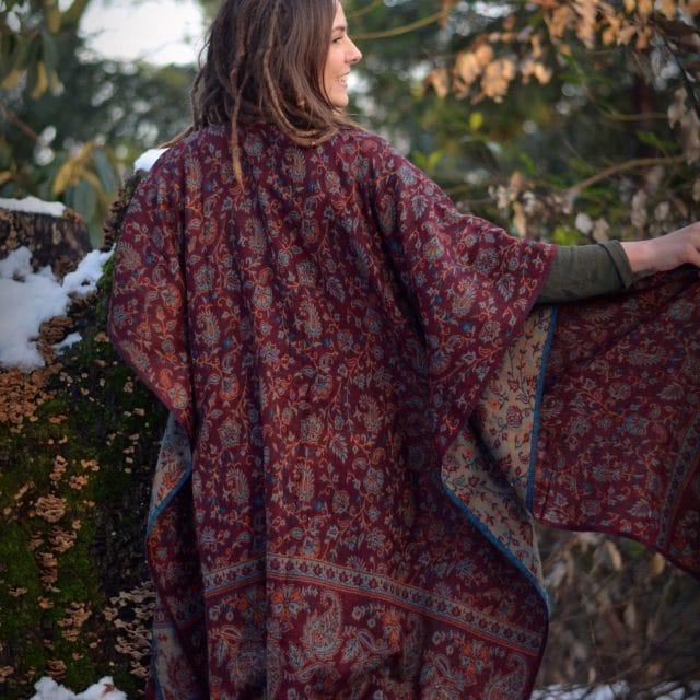 poncho-hippie-bohemian-stil