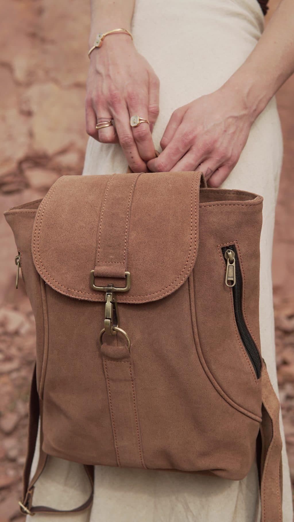 rucksack-leder-boho-beige