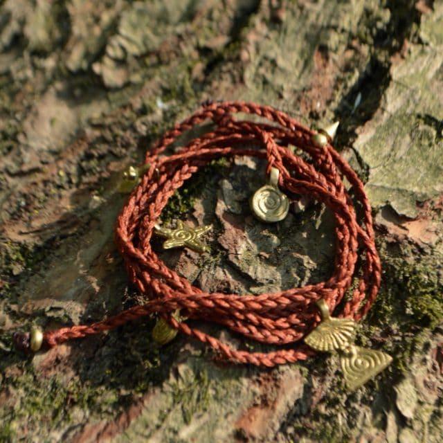 wickel-armband-hippie-boho-rost-orange
