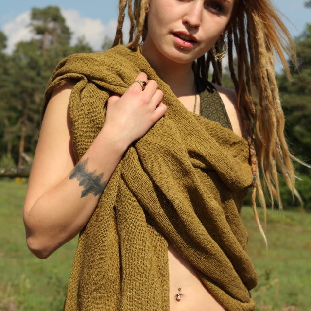 schal-chrochet-senf-beige-hippie-tribal-gypsy