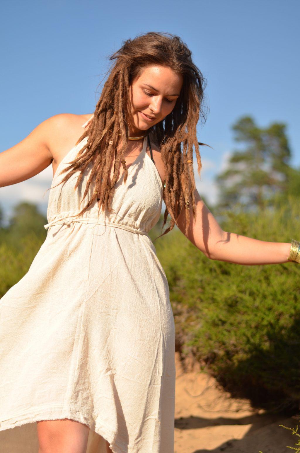 bourgeon vodik povedati resnico hippie kleid weiß