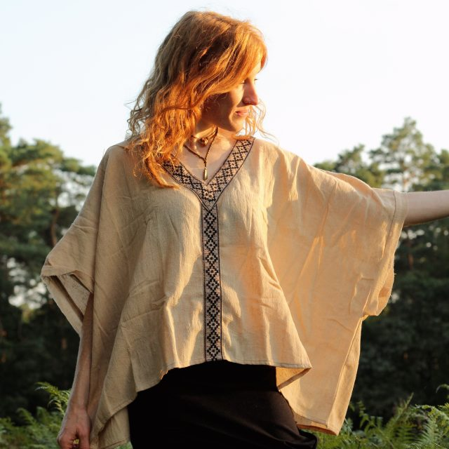 poncho-zipfel-top-hippie-goa-psy-wear-beige