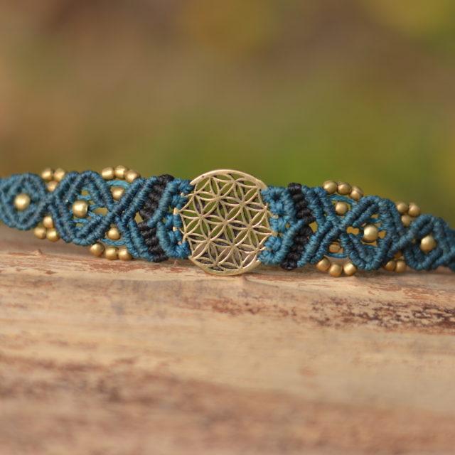 lebens-blume-schmuck-armband
