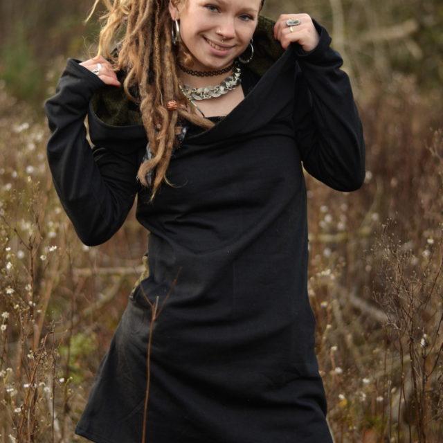 kleid-schwarz-hippie-goa-psy-flower-of-life