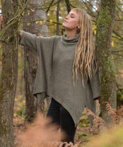 pullover-zipfel-lagenlook-gruen