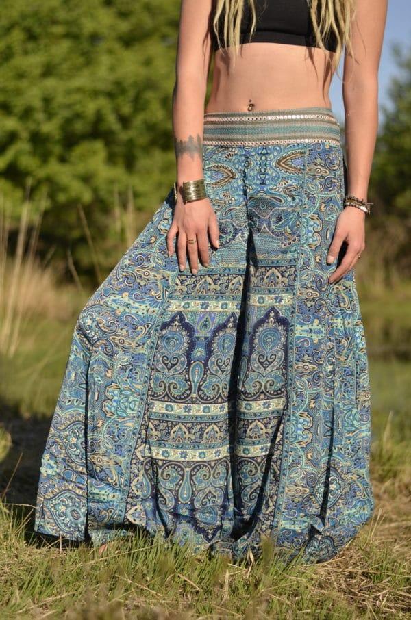 hose-paisley-muster-hippie-festival