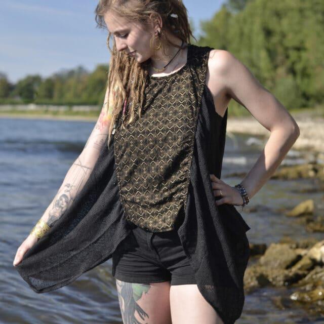 top-poncho-schwarz-hippie-mode