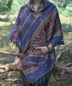 poncho-zipfel-pullover-hippie-ethno-boho