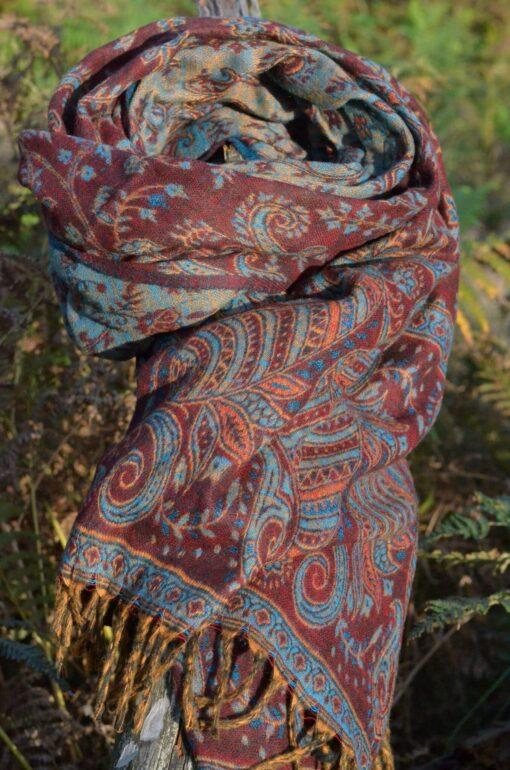 yak-schal-hippie-mode-paisley-muster