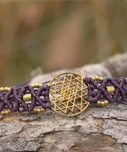armband-yoga-symbol-lila-shri-yantra