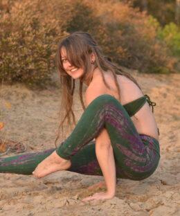 leggings-batik-yoga-hippie-ethno-style-gruen