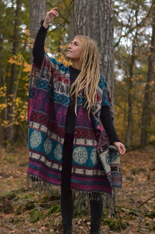 poncho-mantel-ethno-hippie-bunt