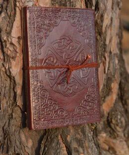 lederbuch-journal-endlos-knoten-keltisch