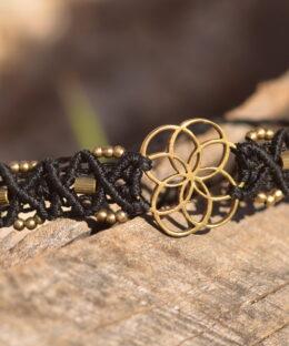 armband-seed-of-life-schwarz